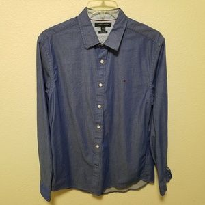 Tommy hilfiger denim button down shirt